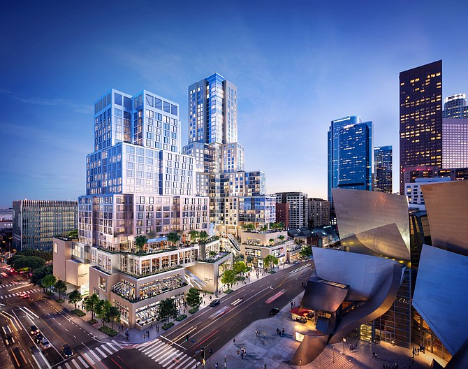 Related Co.'s downtown mixed-use project The Grand, which is currently under construction, features a hotel.