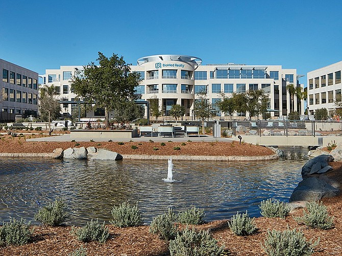 Photo courtesy of BioMed Realty.