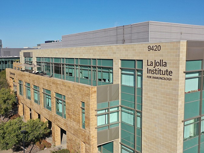 Photos courtesy of La Jolla Institute of Immunology. The La Jolla Institute for Immunology will pursue research into SARS-CoV-2 with a new, $6.4 million federal grant.