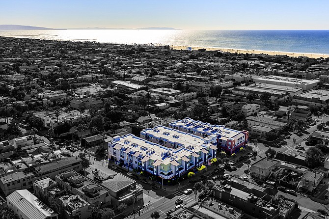 A Venice apartment complex sold for $65 million.