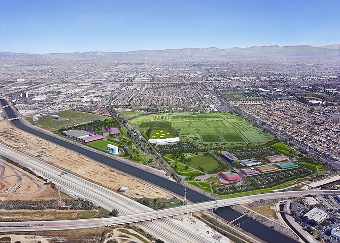 The Creek at Dominguez Hills will have sky diving and other sports.