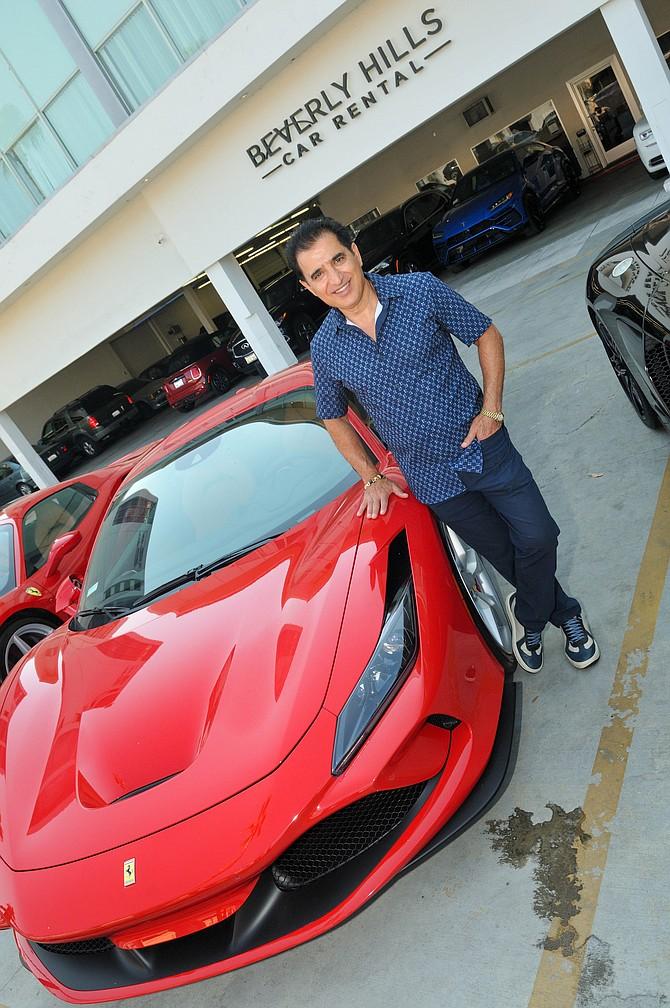 Beverly Hills Car Rental Founder David Sajasi.