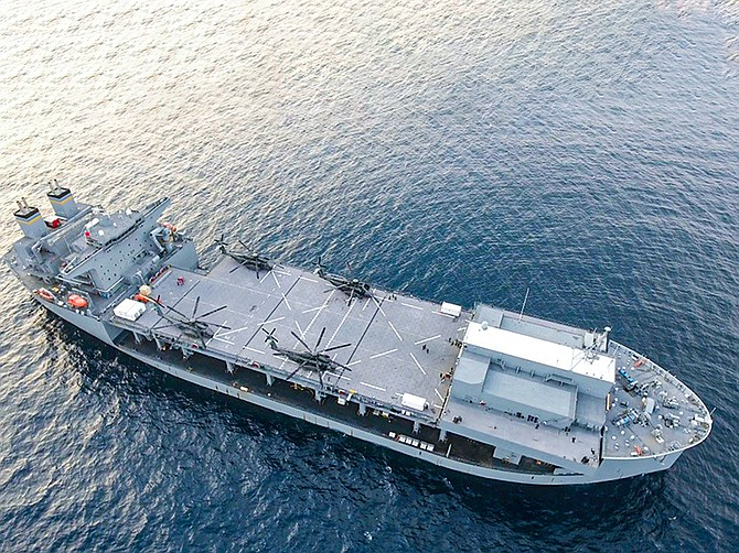 Photo courtesy of U.S. Navy.