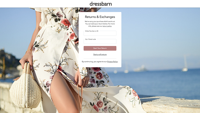 Dressbarn relies on Happy Returns' 500 drop-off locations.