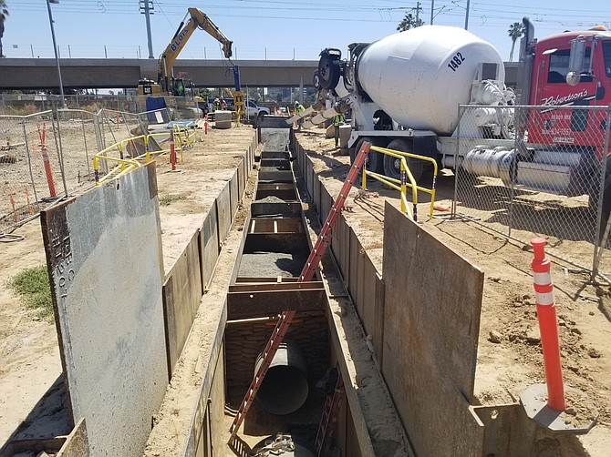Skanska's work includes an extension of 98th Street to the 405 freeway.