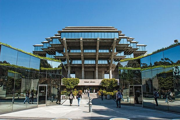This fall, UC San Diego is planning on having 12% of its classes offered in-person or a hybrid format. Photo courtesy of UC San Diego.