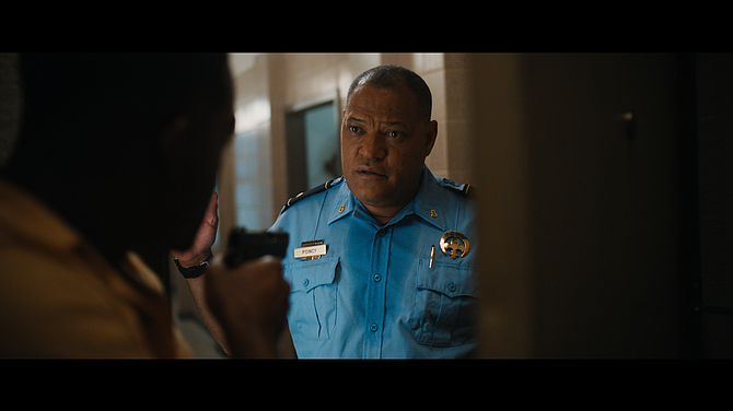 "Laurence Fishburne won an Emmy for his role on Quibi's ""#FreeRayshawn."""
