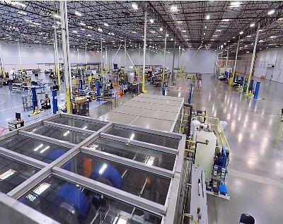 Karma's Moreno Valley manufacturing plant