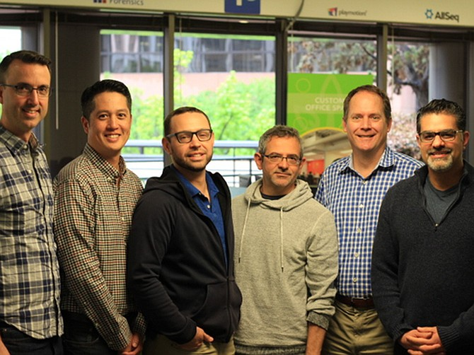 Photo Courtesy of LeadCrunch. LeadCrunch's Product and Science Team.
