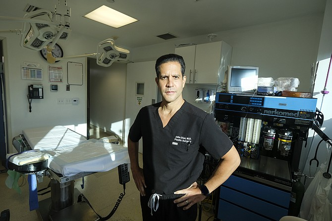John Diaz, president of the L.A. Society of Plastic Surgeons, said many members are the busiest they've ever been.