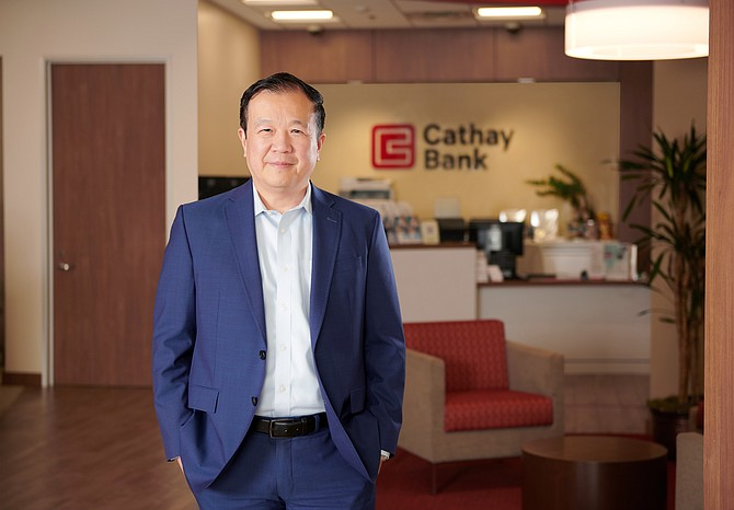 Cathay Bank CEO Chang Liu is focused on helping borrowers through the pandemic.
