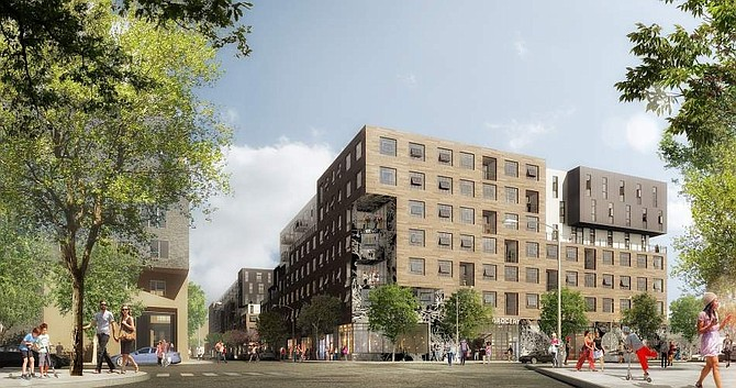 The AVA Arts District will have 475 multifamily units.
