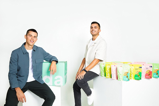 Daring co-founders Ross Mackay and Eliott Kessas