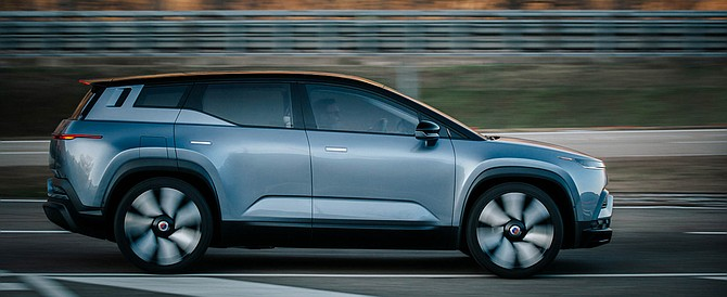 The Fisker Ocean is a four-wheeldrive EV scheduled to roll out in 2022.