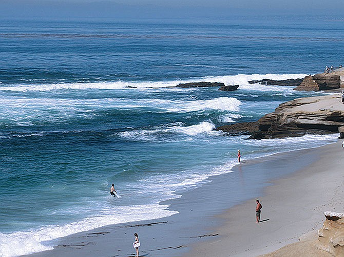 As part of the 'Yay WeekYays' promotion, the San Diego Tourism Authority will list the region's 31 beaches to entice locals and those from the drive-in market to stay at a local hotel from Sundays to Wednesdays. Photo courtesy of Lisa Field.