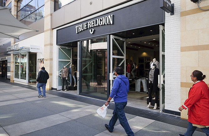 True Religion Apparel Inc. filed for bankruptcy this year.