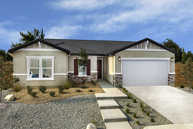 A recent KB Home project in California