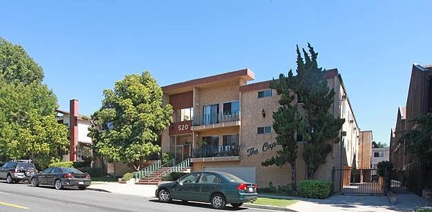 Capri Apartments in Burbank.