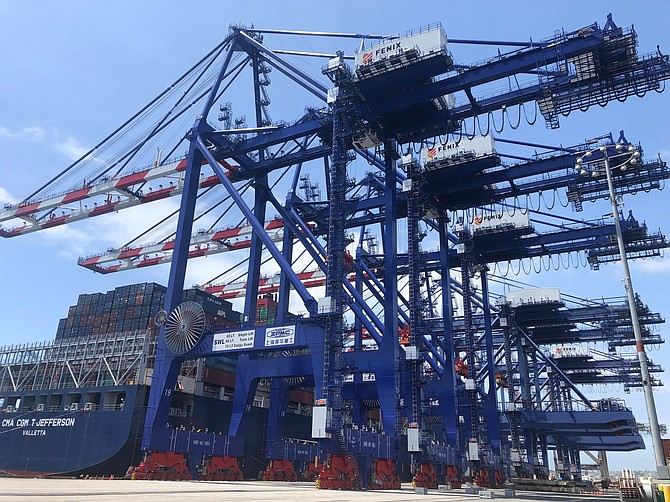 Fenix recently added 14 rubber-tired gantry cranes, four of the largest ship-to-shore cranes in North America and 24 top handlers.