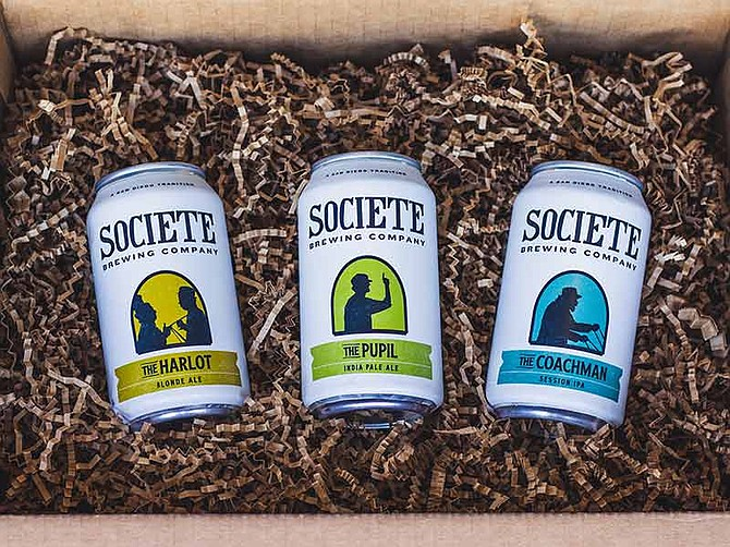 Photo courtesy of Societe Brewing Co. Societe Brewing Co., headquartered in Kearny Mesa, is a member of the San Diego Brewers Guild and participating in this year's San Diego Beer Week.