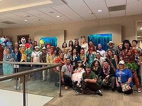 Photo Courtesy of Shipware. On Feb. 28, Shipware partnered with the Make A Wish Foundation to send recipient, Alyssa, on a sponsored Disney Cruise. The sendoff party was held at its Rancho Bernardo headquarters.