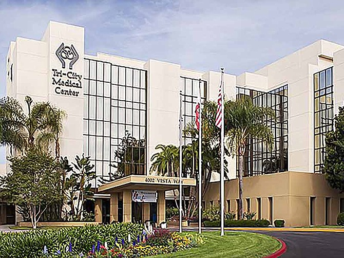 Photo courtesy of Tri-City Medical Center.