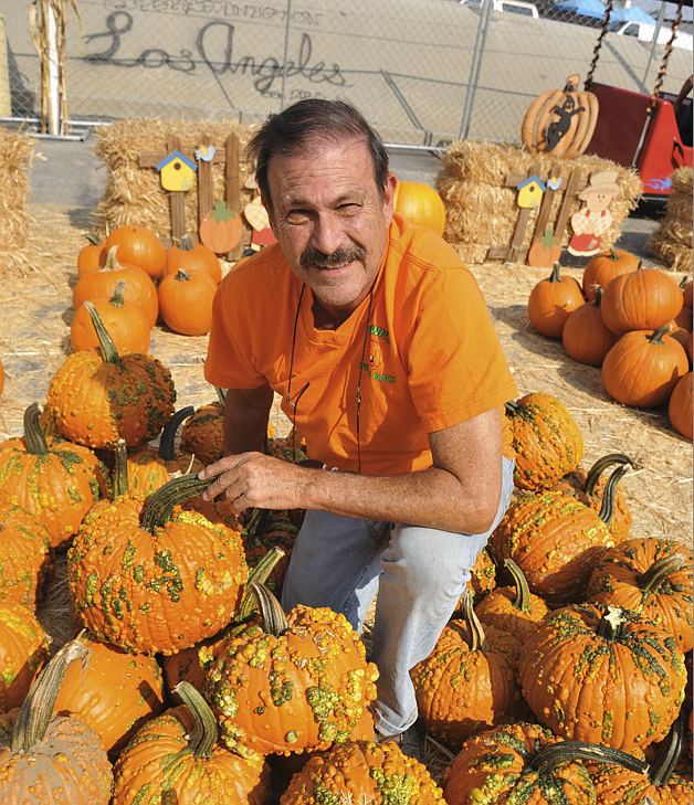 Pumpkin patch owner Shawn Wilk cut his pumpkin order in half.