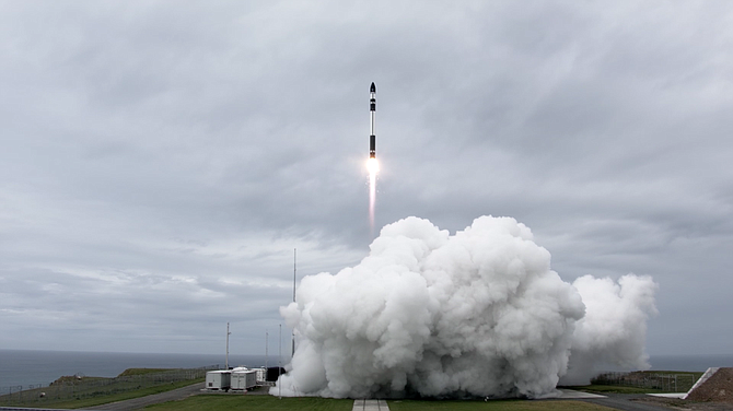 Rocket Lab deployed 10 satellites in its latest launch.