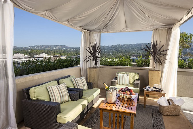 The Viceroy L'Ermitage has 116 luxury rooms along with a rooftop pool and other amenities.