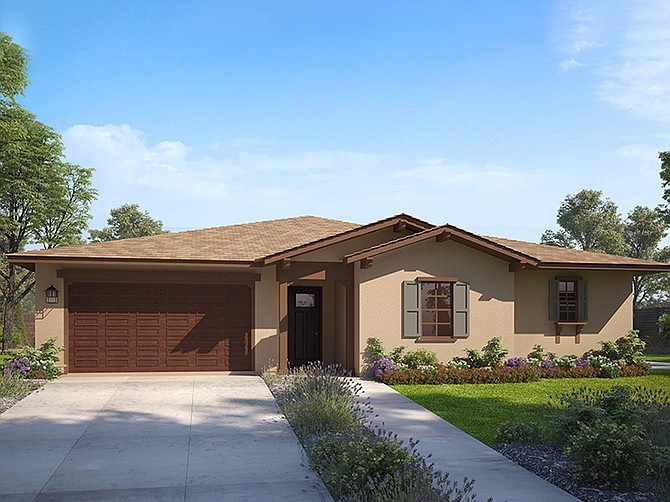 Rendering courtesy of Trumark Homes.