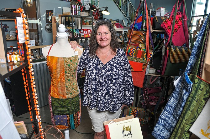 Teresa Baxter runs Fair Trade Long Beach Retail Collective.