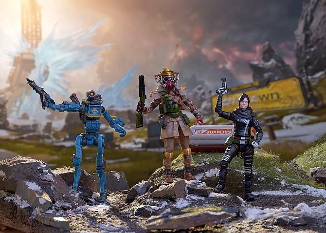Apex Legends action figures.