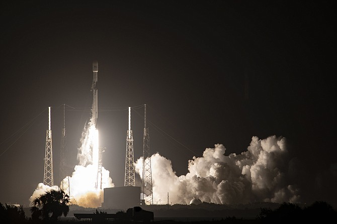 SpaceX's Falcon 9 rocket lifted off from Cape Canaveral, Fla.