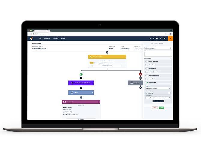 Photo Courtesy of LawSites. Lawmatics software streamlines the lead intake process and provides the tools to manage communications with potential clients.