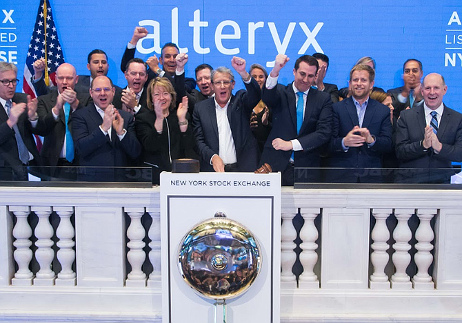 Alteryx at March 2017 IPO