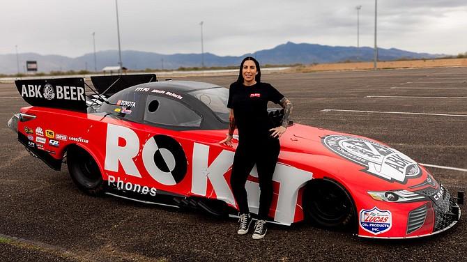 Rokit's portfolio includes ABK Beer, which sponsors Alexis DeJoria.