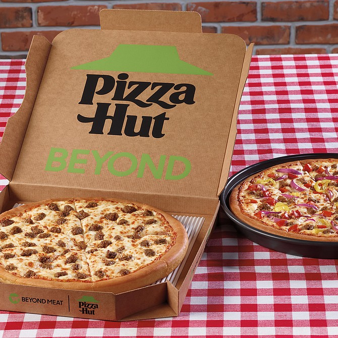 Pizza Hut announced it will offer Beyond Italian Sausage.