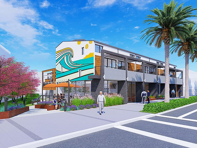 Rendering courtesy of DBRDS.