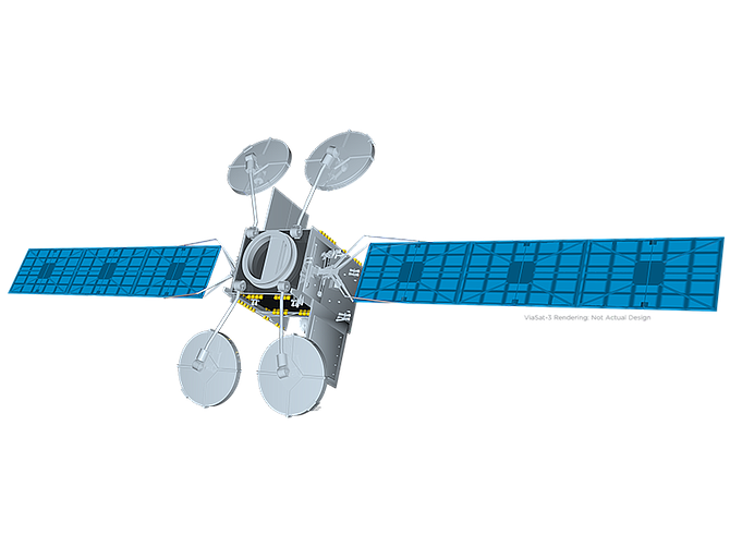 Rendering courtesy of Viasat Inc.