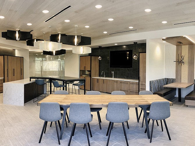 Photo courtesy of ID Studios. Mintz law firm has remodeled its Carmel Valley offices.