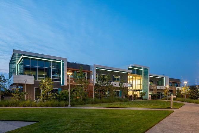 Electonic Arts' new studio headquarters at the Del Rey Campus at 4820 Alla Rd., Del Rey.