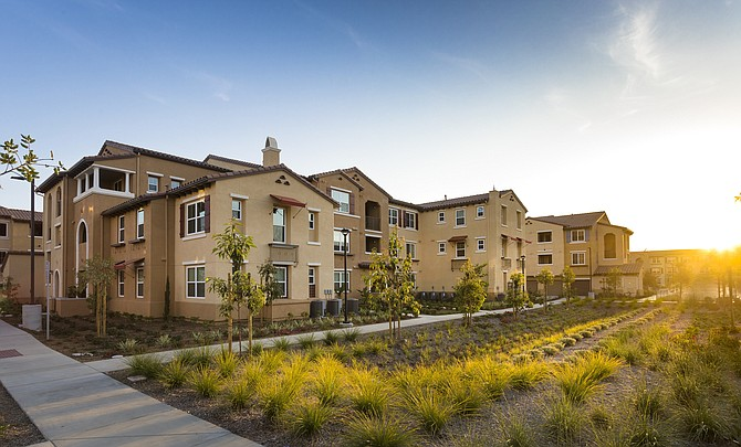 Las Positas apartment complex at 352 Townsite Promenade in Camarillo.