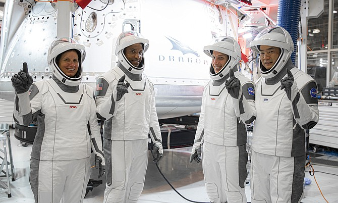 The Resilience crew took flight on Nov. 15.