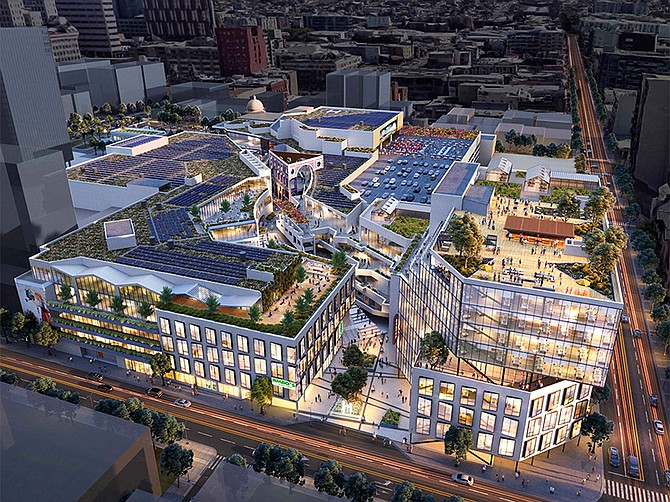 Rendering courtesy of Stockdale Capital Partners.