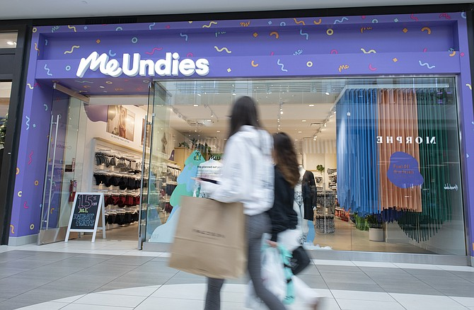 MeUndies plans to open more physical stores.