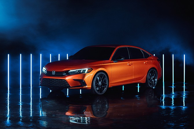 Honda used the gaming service to reveal its 2022 Civic prototype.