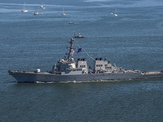 Photo courtesy of U.S. Navy. QED Systems' maintenance planning efforts will cover several types of U.S. Navy surface ships, including guided missile destroyers similar to the USS Paul Hamilton pictured here.