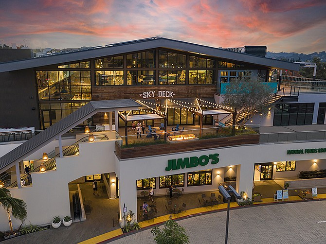 Photo courtesy of Donahue Schriber Realty Group. The Sky Deck, a restaurant collective, is a part of Del Mar Highlands Town Center's $120 Million expansion.