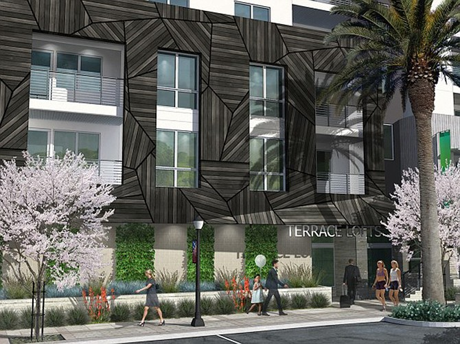Photo courtesy of Tideline Partners. Terrace Lofts in Vista will have 42 microapartments.