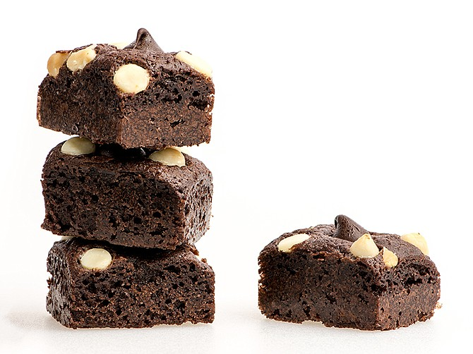 Photo courtesy of Kaneh Co. Kaneh Co. currently offers about 25 products, including brownies (pictured above), granola bites, cookies, fruit jellies and chocolate bites.